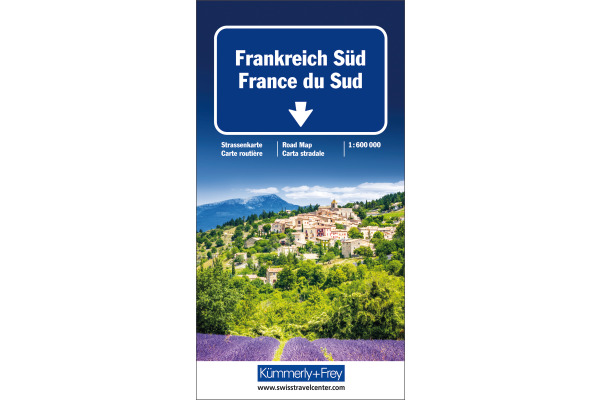 KÜMMERLY Strassenkarte 259011997 Frankreich-Süd 1:600´000
