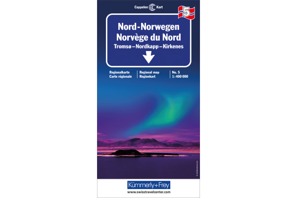 KÜMMERLY Strassenkarte 325901035 Norwegen Nord 5 1:400´000
