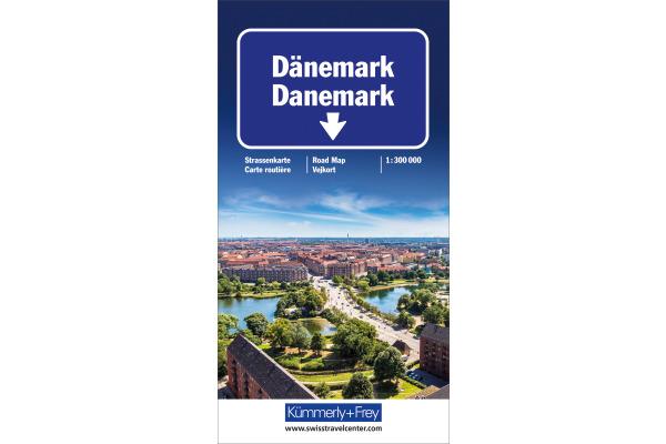 KÜMMERLY Strassenkarte 325901145 Dänemark 1:300´000