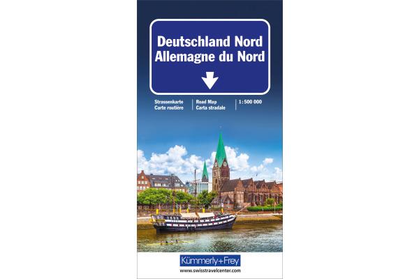 KÜMMERLY Strassenkarte 325901193 Deutschland Nord 1:500´000