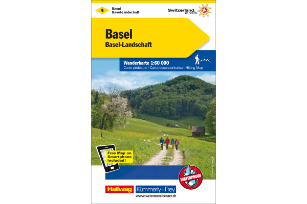 KÜMMERLY Wanderkarte 325902204 Basel-Basel-L 1:60´000