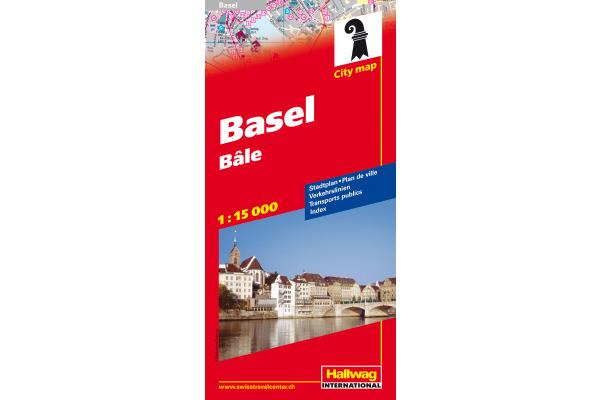 KÜMMERLY Stadtplan 328306509 Basel 1:15000