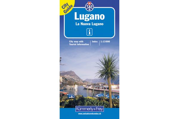 KÜMMERLY Stadtplan 382830876 Lugano 1:13´000
