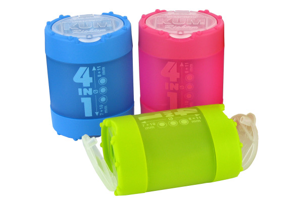 KUM Spitzer mit Behälter 5240823 blau, grün, pink, ass.