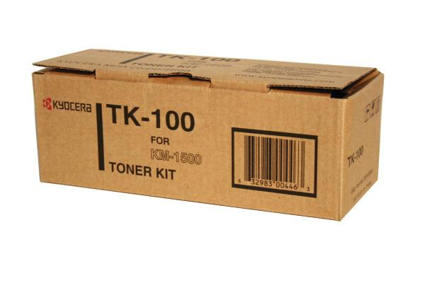 KYOCERA Toner schwarz TK-100 KM 1500 6000 Seiten