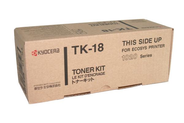 KYOCERA Toner-Kit schwarz TK-18 FS-1020D 7200 Seiten