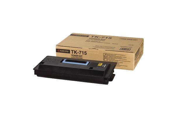 KYOCERA Toner-Modul schwarz TK-715 KM-3050/5050 34´000 Seiten