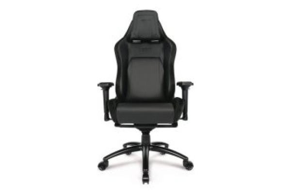 L33T E-Sport Pro Gaming Chair 160537 Black w Alcantara