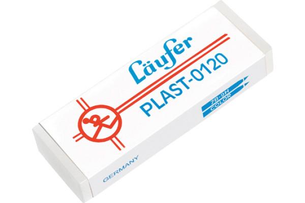 LÄUFER Plast-Radierer 65x21x12mm 0120 mit...