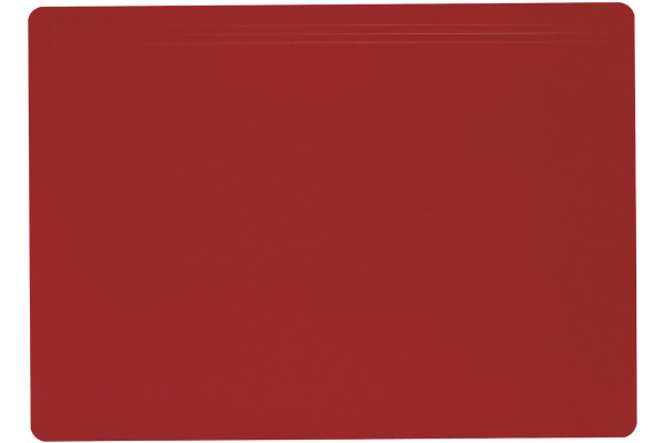 LÄUFER Schreibunterlage Matton 32704 rot 70x50cm