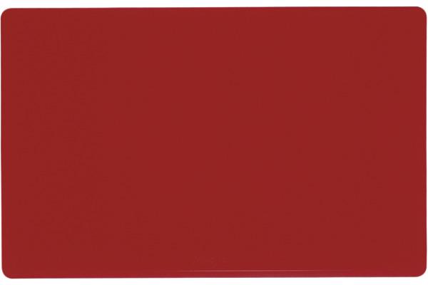 LÄUFER Schreibunterlage Durella 40324 rot 50x32cm