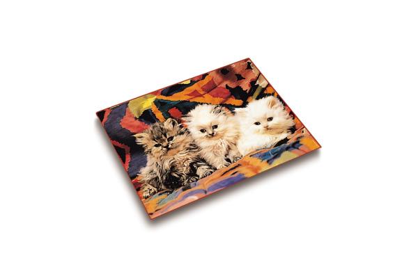 LÄUFER Schreibunterlage 46582 Katzenkinder 53x40cm