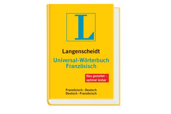 LANGENSCH Universal Wörterbuch 468181610 Französisch-Deutsch 72x104mm