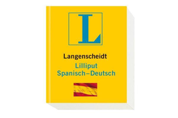 LANGENSCH Liliput Wörterbuch 468199608 Deutsch-Spanisch 47x57mm
