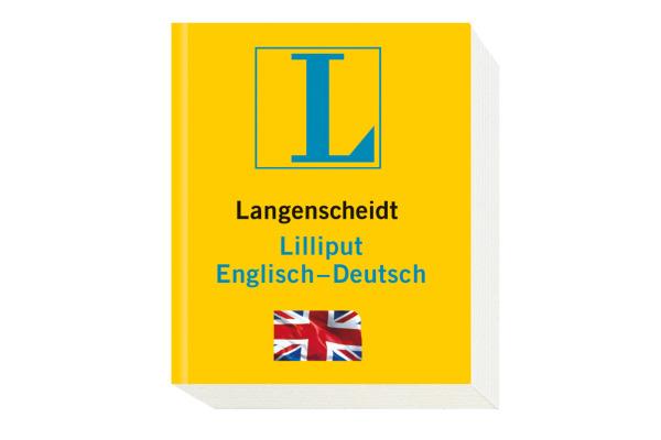 LANGENSCH Liliput Wörterbuch 384681997 Deutsch-Englisch 47x57mm