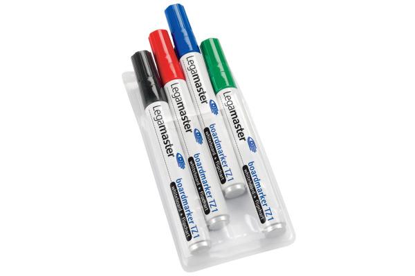 LEGAMASTER Whiteboard Marker TZ1 1,5-3mm 7-110094 4er Etui