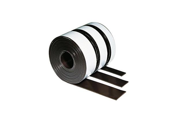 LEGAMASTE Magnetband 25mmx3m 7-186500 selbstklebend, braun