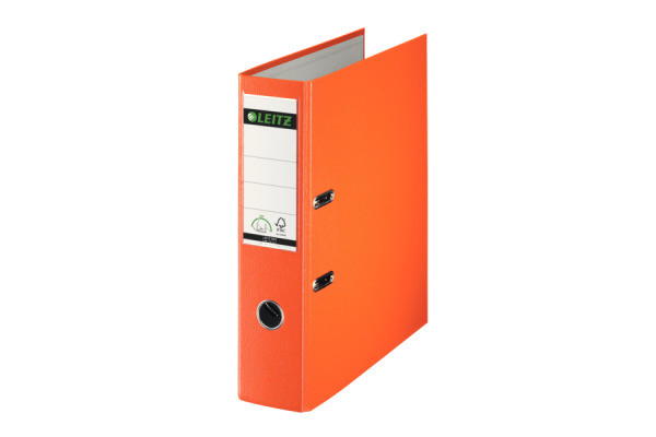 LEITZ Ordner 8cm 10135045 orange A4