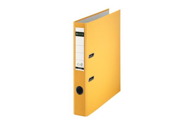 LEITZ Ordner 5,2cm 10165015 gelb A4