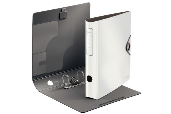 LEITZ Qualitäts-Ordner 180° 6,2cm 10481001 weiss A4