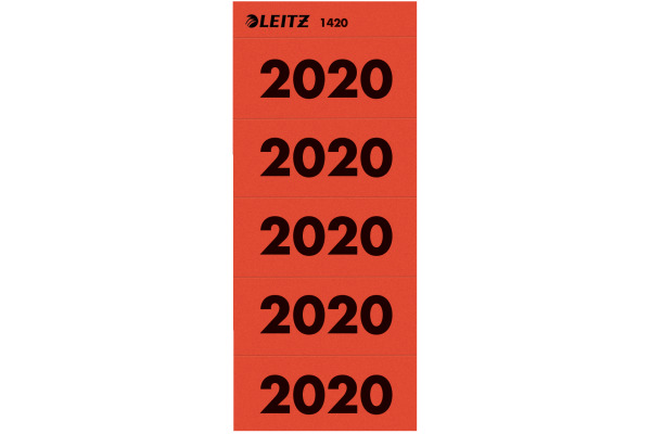LEITZ Jahreszahl Etikette 14200025 2020 100 Stück