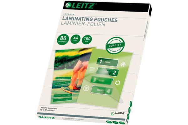 LEITZ Pochettes à plastifier A4 33818...