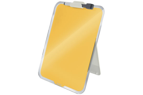 LEITZ Glass Noteboard Cosy 3947-00-19 jaune 33x25x7.5cm