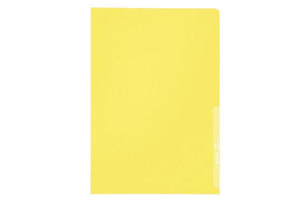 LEITZ Sichthüllen PP A4 40000015 gelb, 0,13mm 100 Stück