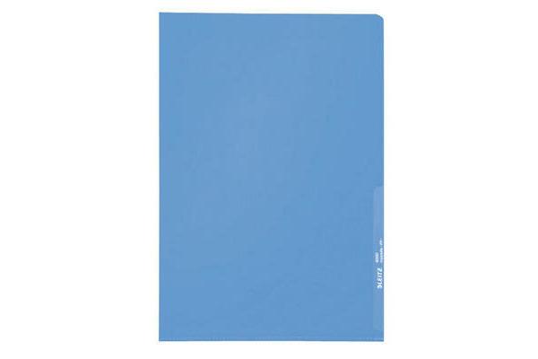 LEITZ Sichthüllen PP A4 40000035 blau, 0,13mm 100 Stück