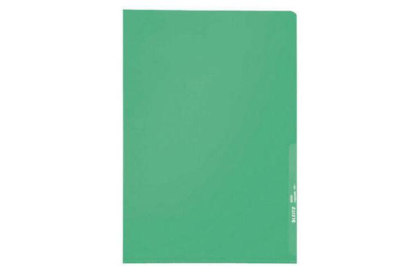 LEITZ Sichthüllen PP A4 40000055 grün, 0,13mm 100 Stück
