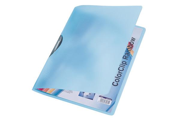 LEITZ Color Clip Rainbow A4 41760030 blau