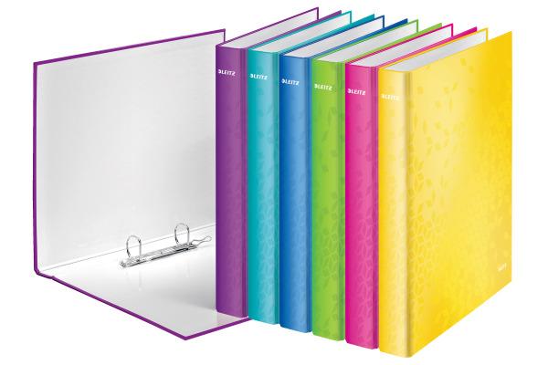 LEITZ Ringbuch WOW A4 42412099 6-farbig assortiert