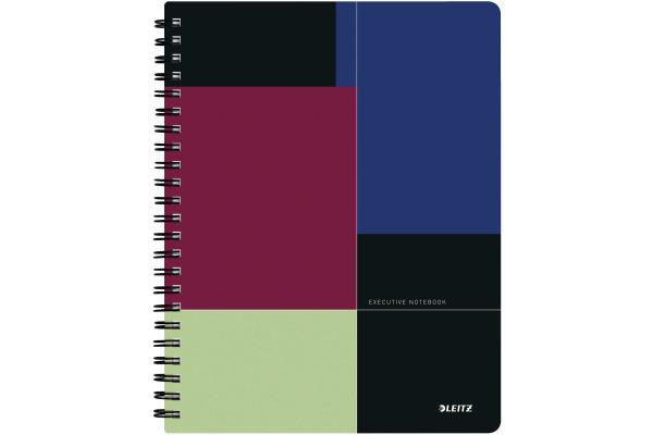 LEITZ Collegeblock Executive A4 44660000 farbig liniert, BeMobile