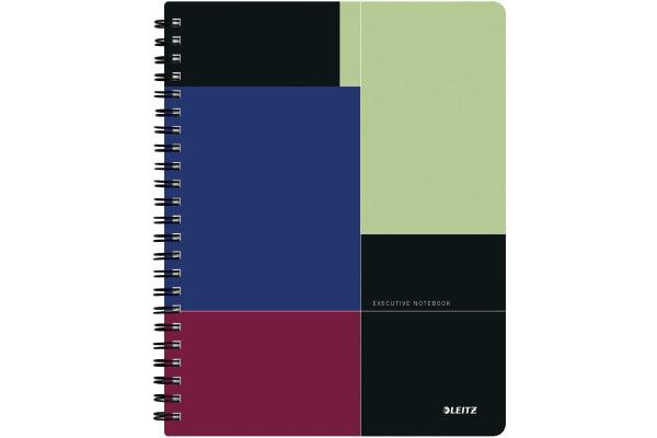 LEITZ Collegeblock Executive A4 44670000 farbig kariert, Project