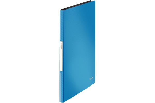 LEITZ Sichtbuch Solid PP A4 45641030 hellblau 20 Hüllen