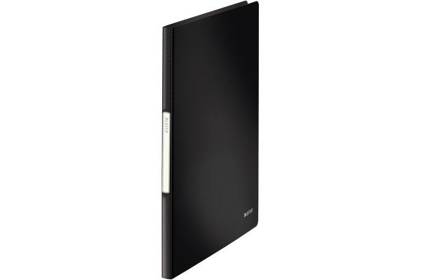 LEITZ Sichtbuch Solid PP A4 45641095 schwarz 20 Hüllen