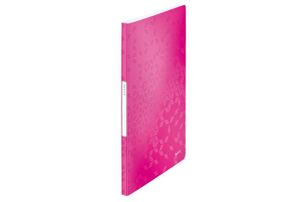 LEITZ Sichtbuch WOW PP A4 46310023 pink 20 Hüllen