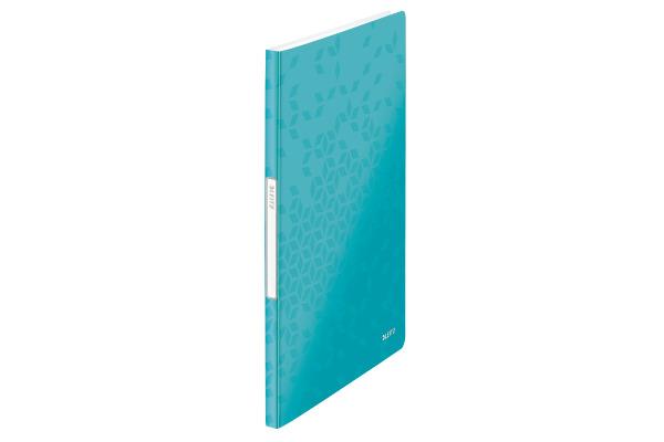 LEITZ Sichtbuch WOW PP A4 46310051 blau 20 Hüllen