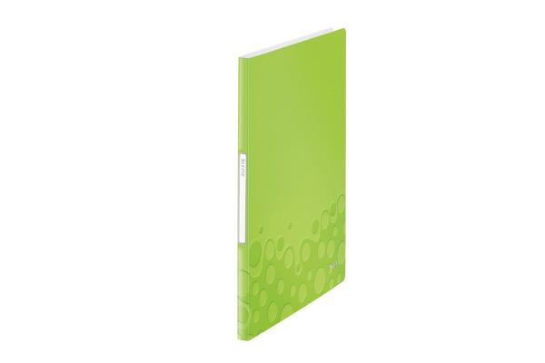 LEITZ Sichtbuch WOW PP A4 46310064 grün 20 Hüllen