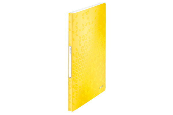LEITZ Sichtbuch WOW PP A4 46320016 gelb 40 Hüllen