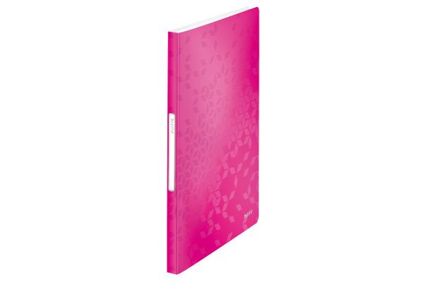 LEITZ Sichtbuch WOW PP A4 46320023 pink 40 Hüllen