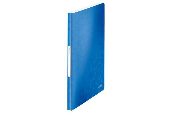 LEITZ Sichtbuch WOW PP A4 46320036 blau 40 Hüllen