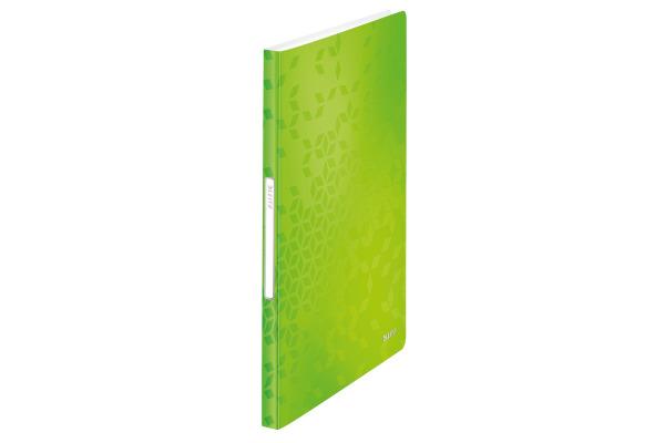 LEITZ Sichtbuch WOW PP A4 46320064 grün 40 Hüllen