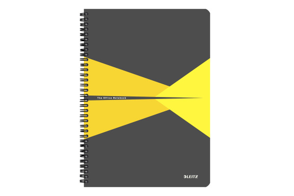 LEITZ Collegeblock Office Card A4 46480015 gelb liniert