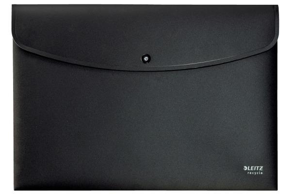 LEITZ Eckspannmappe Recycle A4 4678-00-95 schwarz, PP