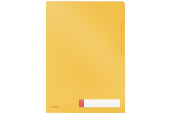 LEITZ Sichthülle Cosy A4 47080019 gelb 3 Stück