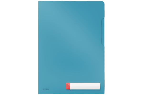LEITZ Sichthülle Cosy A4 47080061 blau 3 Stück