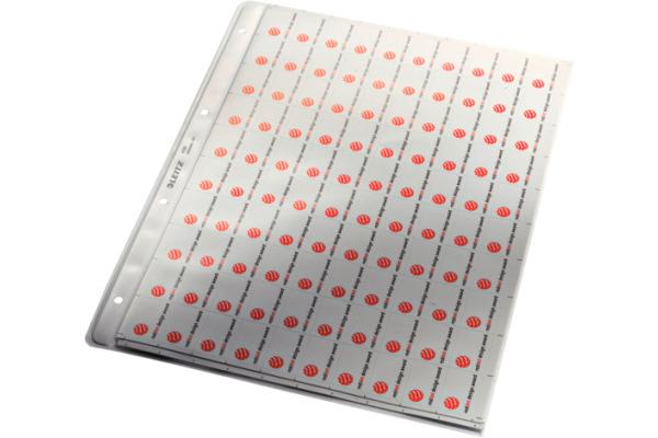 LEITZ Zeigetaschen PP A4 47200003 genarbt, 0,13mm 100 Stück