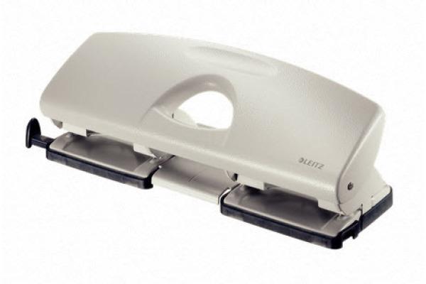 LEITZ Doppellocher 4 1.6mm 50220085 grau, 16 Blatt A6-A4