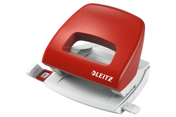 LEITZ Bürolocher NewNeXXt 5.5mm 50380025 rot f. 16 Blatt
